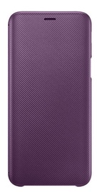 Samsung Wallet Cover For Samsung Galaxy J6 Purple