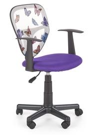 Bērnu krēsls Halmar Spiker Purple, 520x500x800 mm