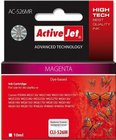 ActiveJet Cartridge AC-526MR For Canon 10ml Magenta