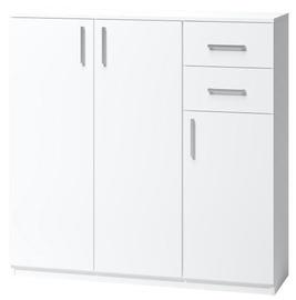 Комод WIPMEB Tatris 06, белый, 110x35x110 см