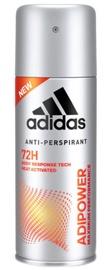 Vīriešu dezodorants Adidas Adipower Anti-Perspirant, 150 ml