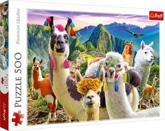 Пазл Trefl Puzzle Lamas In The Mountains 500pcs 37383