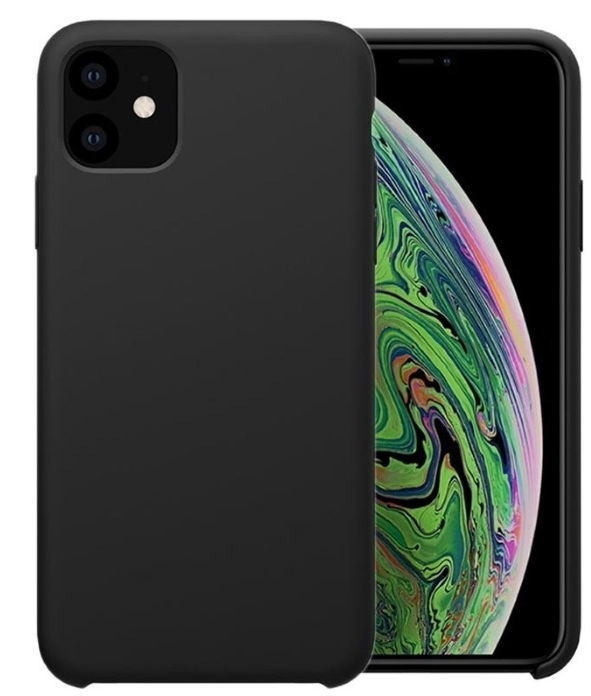 Riff Thin And Soft Back CaseFor Apple iPhone 11 Black