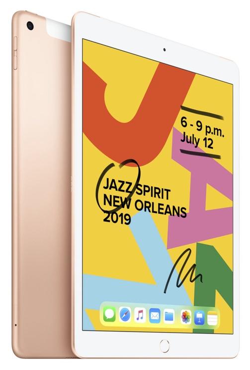 Планшет Apple iPad 7th Gen 10.2 128GB WiFi Cellular Gold