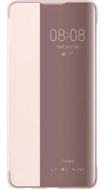 Huawei Smart View Flip Case for Huawei P30 Pink