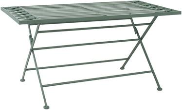Садовый стол Home4you Mint 40056, зеленый, 100 x 50 x 49 см