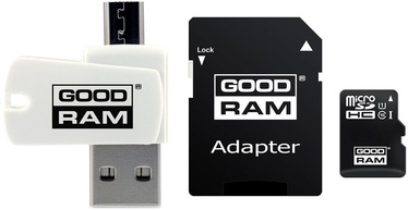 Atmiņas karte GoodRam M1A4 All-in-One 64GB MicroSDXC UHS-I Class 10 + Adapters