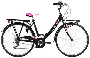 "Velosipēds Esperia Mono 2100, melna/rozā, 18"", 26"""