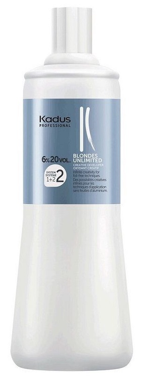 Kadus Professional Blondes Unlimited Creative Developer 1000ml 6%