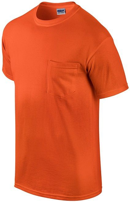 Gildan Cotton T-Shirt Orange XXL