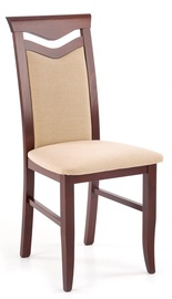 Halmar Chair Citrone Bis Walnut/Beige
