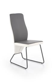 Ēdamistabas krēsls Halmar K - 300 Grey/White