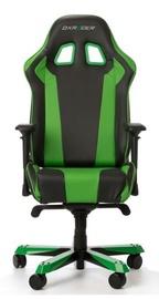 Spēļu krēsls DXRacer King K06-NE Black/Green