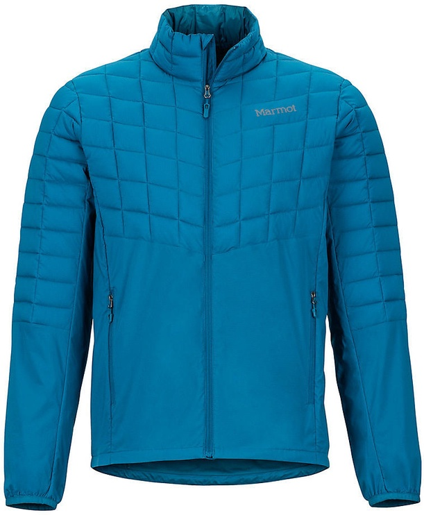 Vējjaka Marmot Mens Featherless Hybrid Jacket Maroccan Blue M