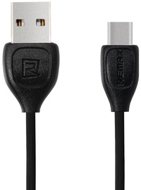 Remax Strong Flexible Silicone USB To Type-C Cable 1m Black