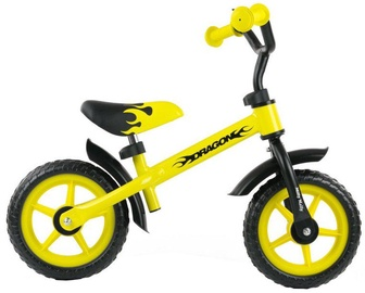 Velosipēds Milly Mally DRAGON Balance Bike Yellow 0806