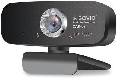 Интернет-камера Savio CAK-02, черный, CMOS