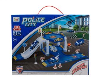 Игрушечный полицейский трек My First Racing Set Police 513120942