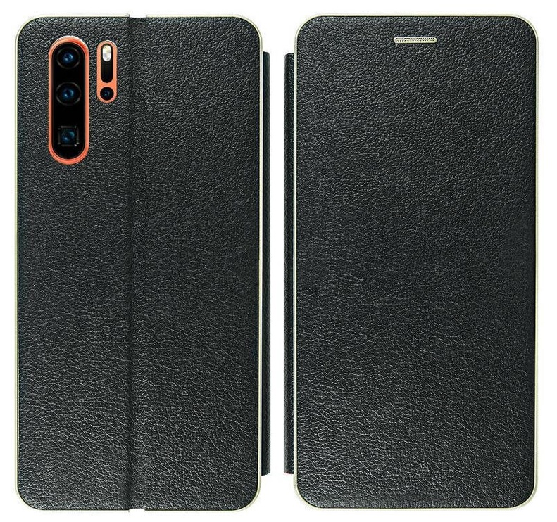Mocco Frame Book Case For Samsung Galaxy S10 Black