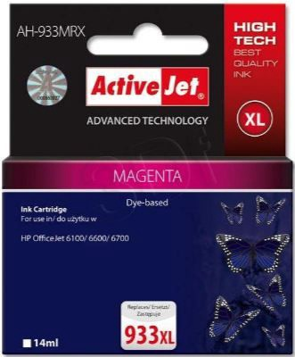 ActiveJet AH-933MRX Cartridge 14ml Magenta