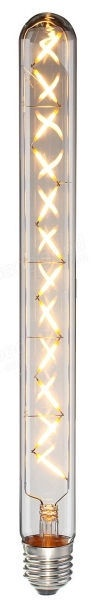 Visional LED Filament Retro DIMMABLE E27 T30-300 12W Amber
