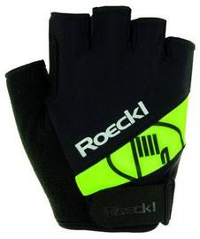 Roeckl Nizza JR Black/Green 7