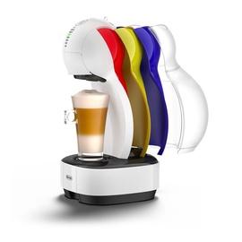 Kapsulas kafijas automāts De'Longhi Colors EDG355.W1, balta/melna