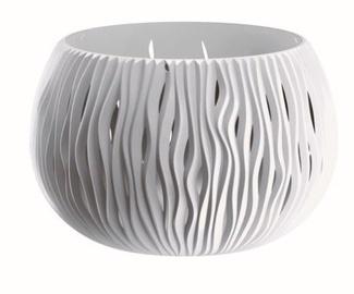 Prosperplast Sandy Bowl Flower Pot 37cm White