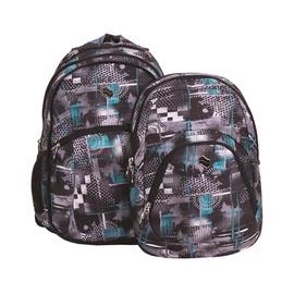 Pulse Backpack 2in1 Teens 121180 Gray Corridor