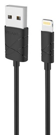 Usams U-GEE USB To Apple Lightning Cable 1m Black