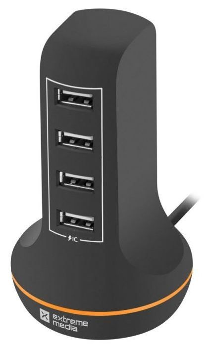 Natec Charger Adapter USB x4