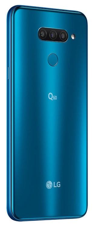Mobilais telefons LG Q60, zila, 3GB/64GB