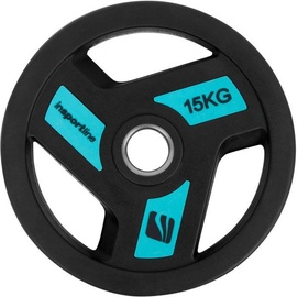 inSPORTline Rubber-Coated Olympic Weight Plate 15kg