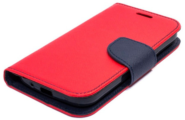 Telone Fancy Diary Bookstand Case Huawei Ascend Y635 Red/Blue