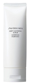Sejas skrubis Shiseido Men Deep Cleansing, 125 ml