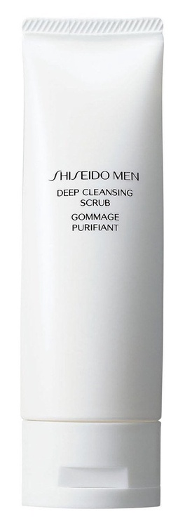 Скраб для лица Shiseido Men Deep Cleansing, 125 мл