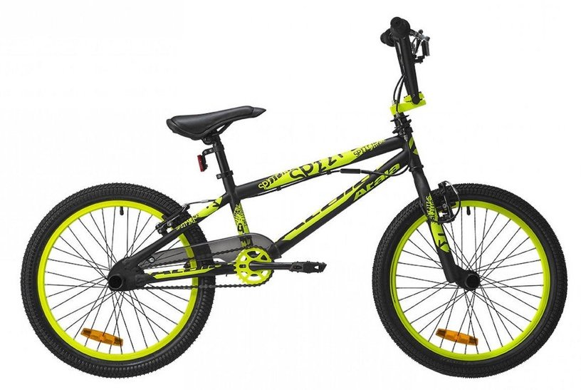 "Atala Spitfire 20"" Black Neon Yellow Matt 19"