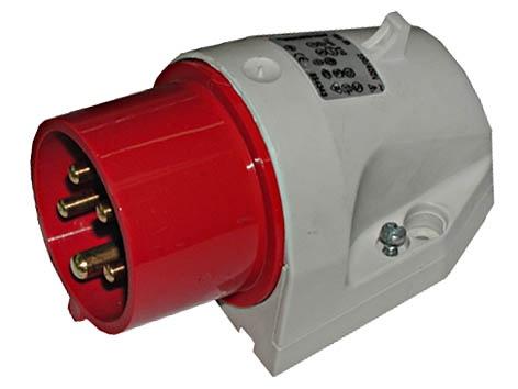 Walther 610 5-Pin Power Plug 5x16A