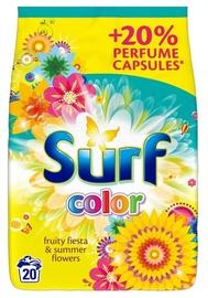 Veļas pulveris Surf Color Fruity Fiesta & Summer Flowers, 1.3 kg