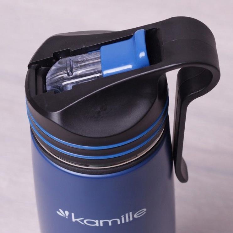 Kamille Sports Water Bottle 500ml Blue KM2058