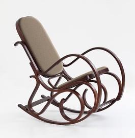 Atzveltnes krēsls Halmar Max Bis Plus Walnut, 90x52x95 cm