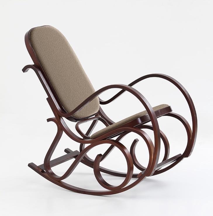 Atzveltnes krēsls Halmar Max Bis Plus, valriekstu, 90x52x95 cm