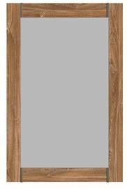 Black Red White Gent Mirror Stirling Oak
