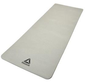 Fitnesa un jogas paklājs Reebok, pelēka, 173 cm x 61 cm x 7 mm