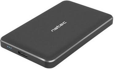 """Natec OYSTER PRO 2.5"""" USB 3.0 Enclosure Black"""