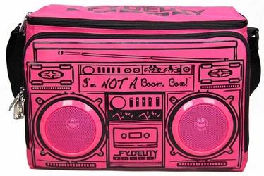 Сумка-холодильник Fydelity Le Boom Box Coolio Pink, 7.92 л