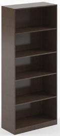 Полка Skyland Simple, коричневый, 77x35x181 см