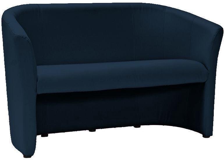 Dīvāns Signal Meble TM-2 Velvet Dark Blue, 60 x 126 x 76 cm