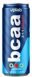 Аминокислоты VPLab BCAA Energy 2:1:1 Raspberry, 0.33 л