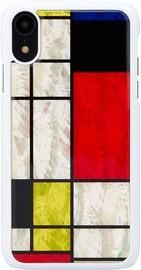 iKins Mondrian Back Case For Apple iPhone XR White